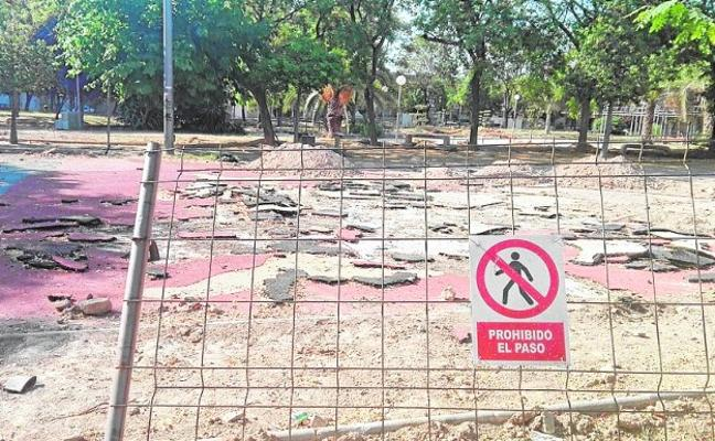 «El parque está desértico»