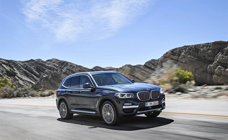 BMW X3, robustez dinámica