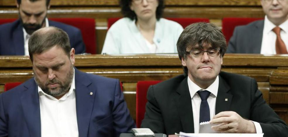 La Guardia Civil interroga a funcionarios del Govern por preparativos del referéndum