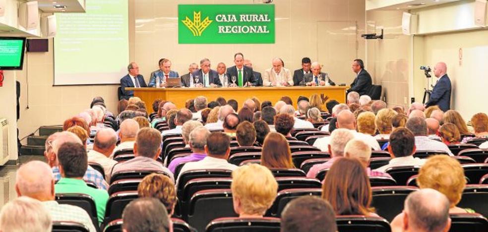 El volumen de negocio de Caja Rural Regional aumentó un 4,64% en el ejercicio 2016