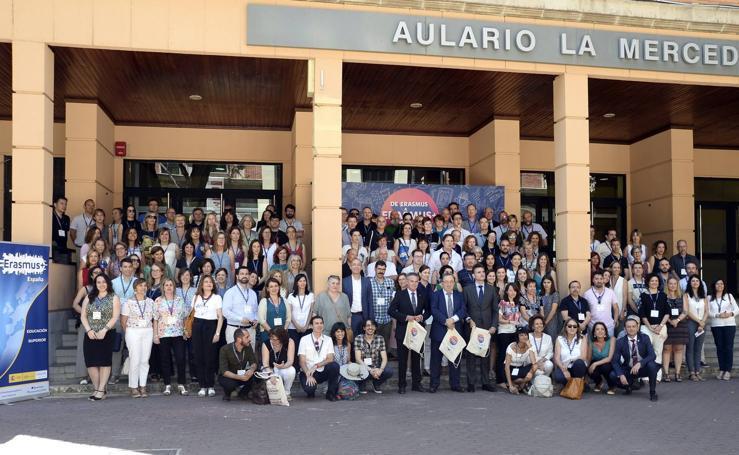 Murcia celebra con una fiesta el 30 cumpleaños del programa Erasmus
