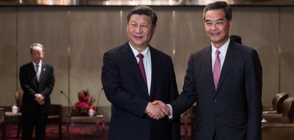 Xi Jinping promete mantener «por un largo tiempo» el estatus de Hong Kong