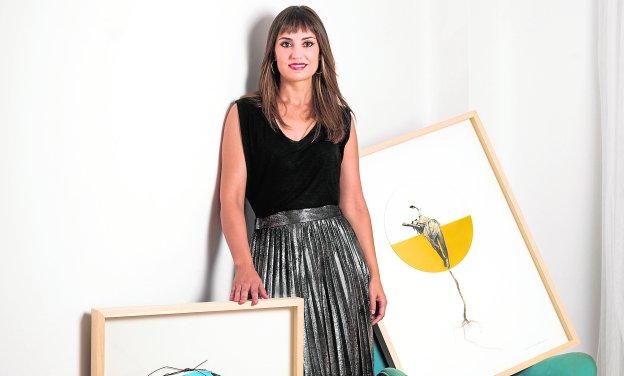 La pintora y pianista Miriam Martínez Abellán./M. José Puche