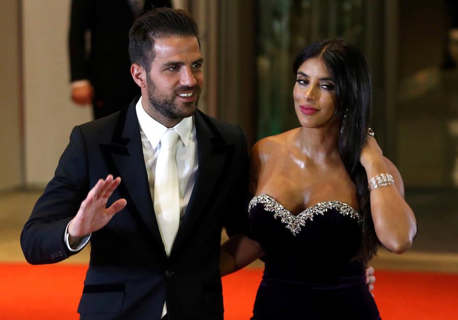 Invitados del balón en la boda de Messi