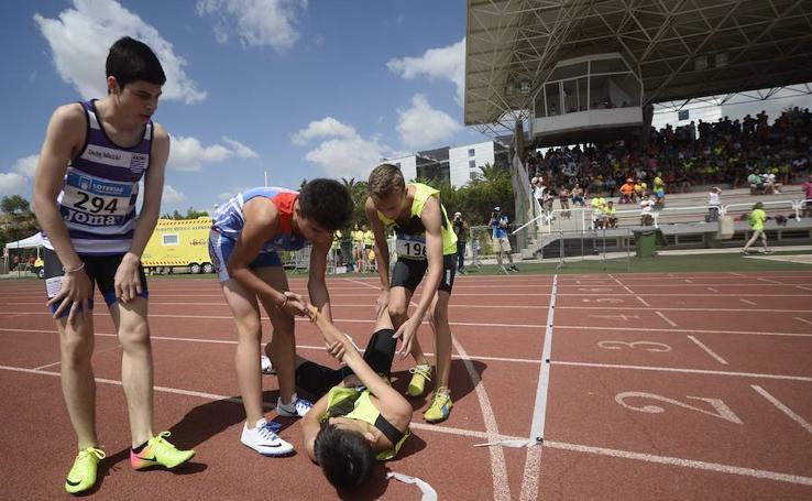 Jornada del sábado en el Campeonato de España cadete de atletismo