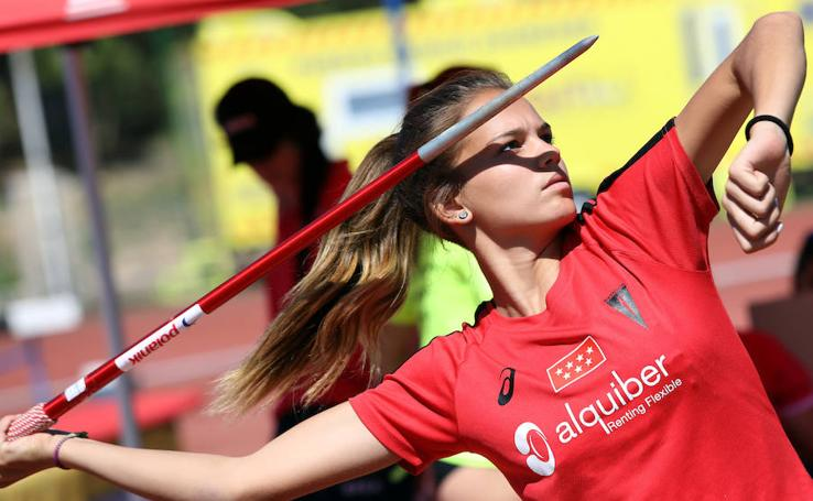 Jornada del domingo en el Campeonato de España cadete de atletismo