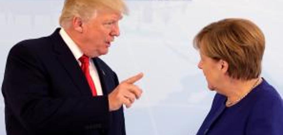 Merkel intenta acercar posturas con Trump para evitar un fiasco en la cumbre del G20