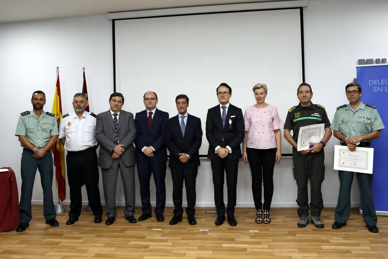 Entrega de las Medallas al Mérito de la Protección Civil