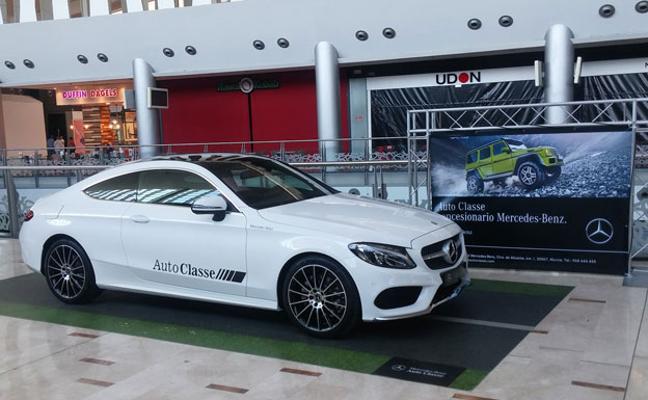 Mercedes-Benz se exhibe en Nueva Condomina