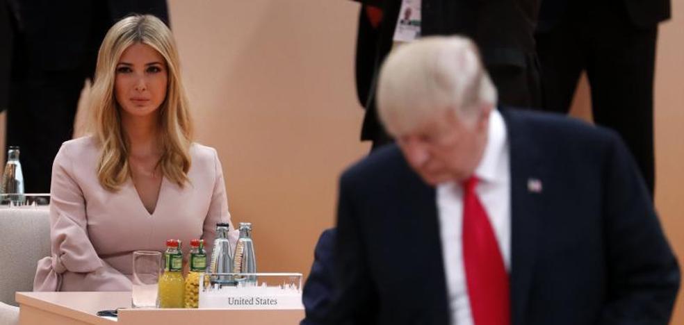 Ivanka Trump sustituye temporalmente a su padre en la mesa de líderes del G20