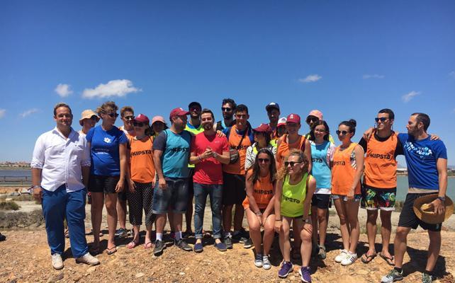 18 jóvenes de toda España participan en el campo de trabajo 'Puro Mediterráneo'