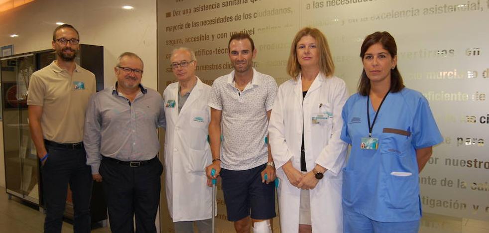 Valverde comienza su recuperación