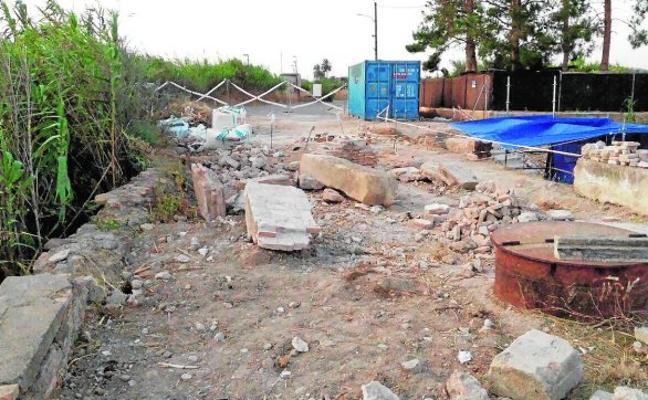 El fiscal investiga el mal estado del acueducto de Los Arcos