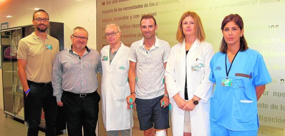 Valverde inicia su recuperación en Molina
