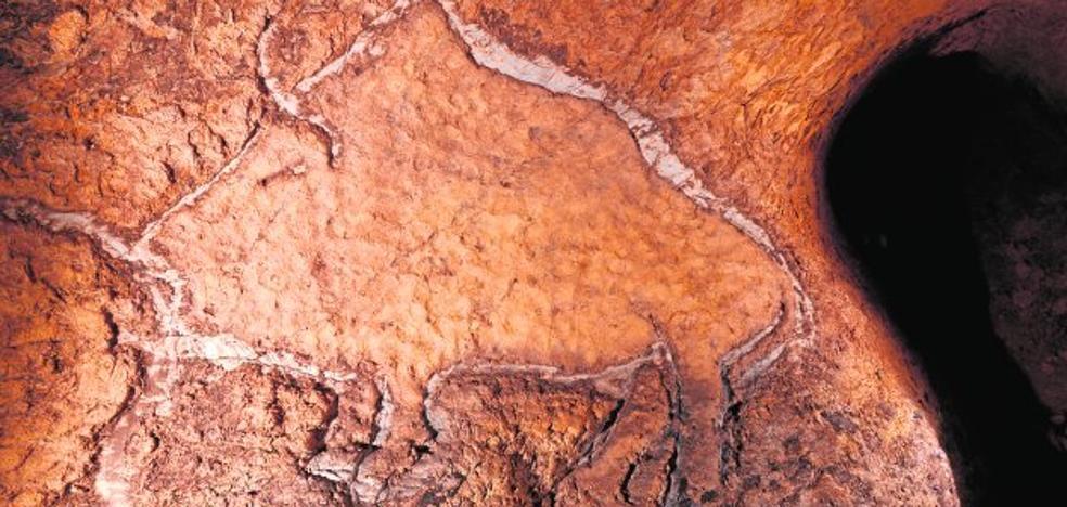 Encuentran en Guipúzcoa unos grabados paleolíticos únicos en la Península
