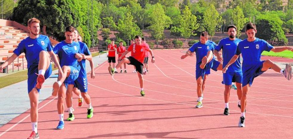 Solo dos caras nuevas en el Lorca FC