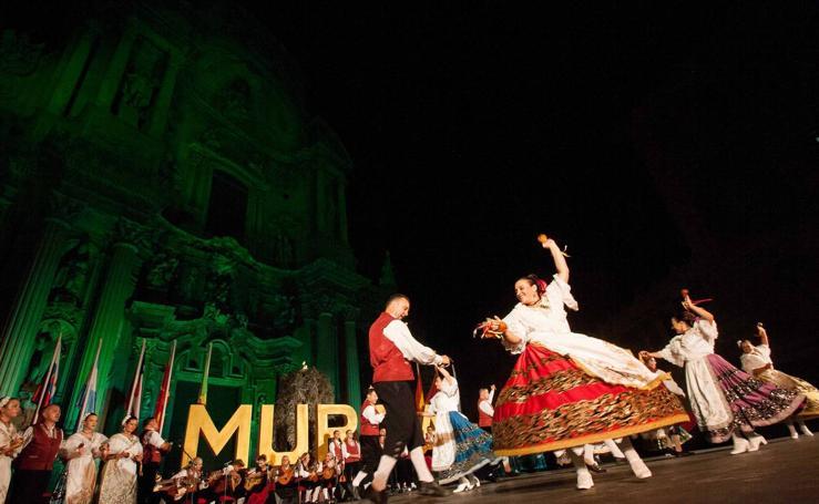 Bailes tradicionales en la Catedral