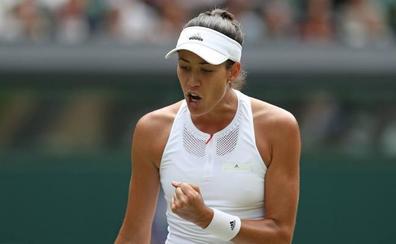 Muguruza aplasta a Rybarikova y peleará por su primer Wimbledon