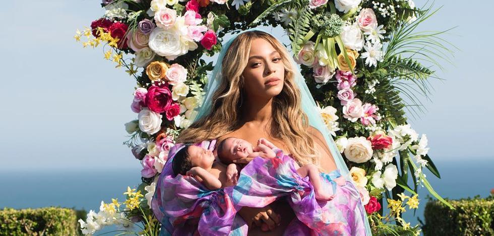 Beyoncé presenta a sus gemelos al mundo