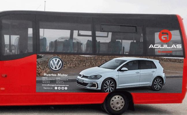 Huertas Motor Volkswagen se vuelca con Águilas