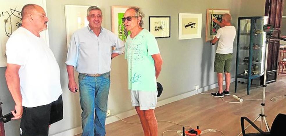 Círculo Vélico reúne obras gráficas de Picasso, Dalí y Miró en Casa Barnuevo