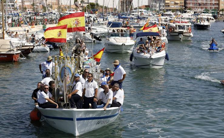 Salves marineras para la Virgen del Carmen