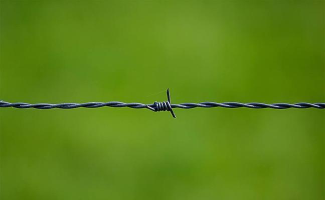 Multado por colocar un cable con espino y provocar el accidente de un ciclista en Totana