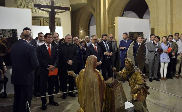 Inauguración la exposición 'Signum' en Caravaca de la Cruz