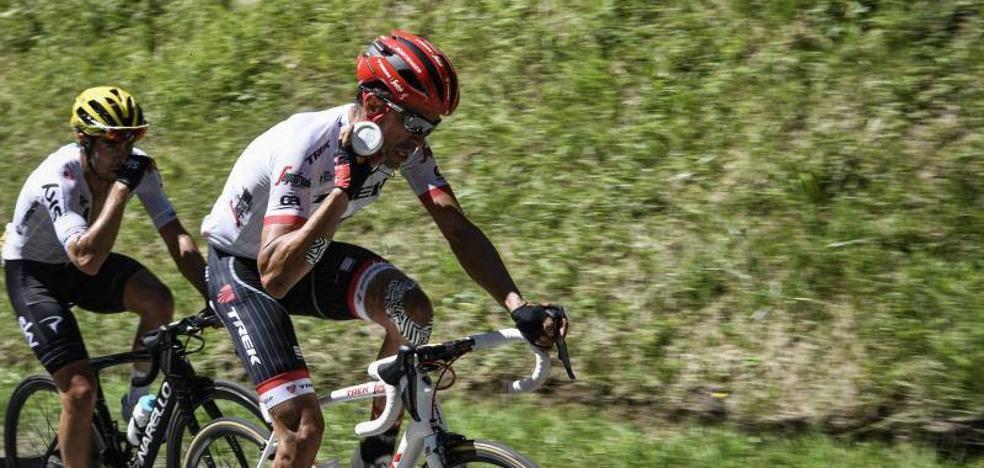Contador, con el único objetivo «realista» de ganar una etapa