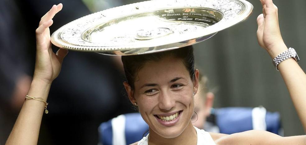 Garbiñe Muguruza asciende al quinto puesto tras su victoria en Wimbledon