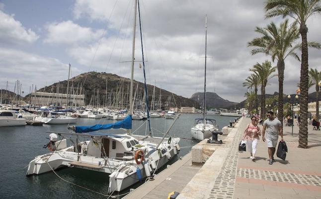 La ocupación de los puertos deportivos de la Región se sitúa cerca del 80% en el primer semestre de 2017