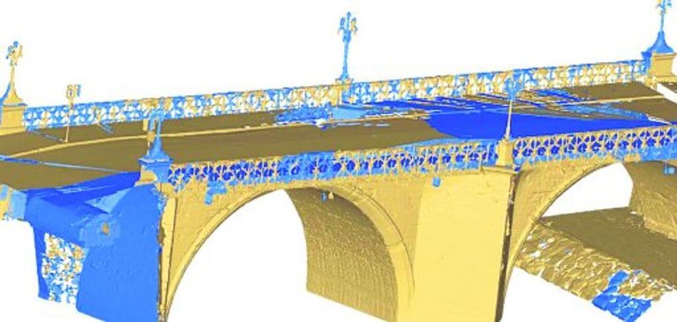Los sondeos evidencian la buena salud de la estructura del Puente Viejo