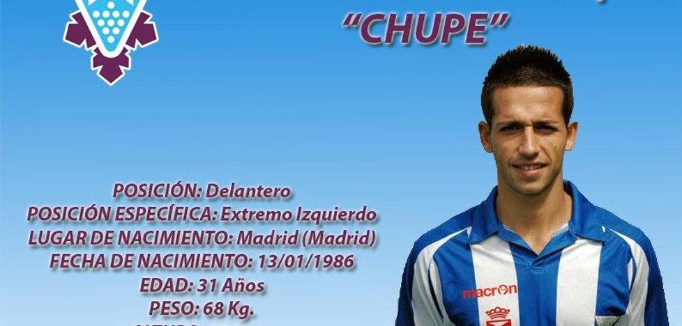 Chupe, nuevo refuerzo para la delantera del FC Jumilla