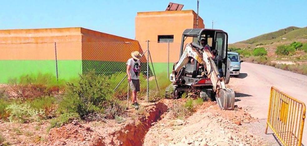 Mejoran el suministro de agua en El Raiguero