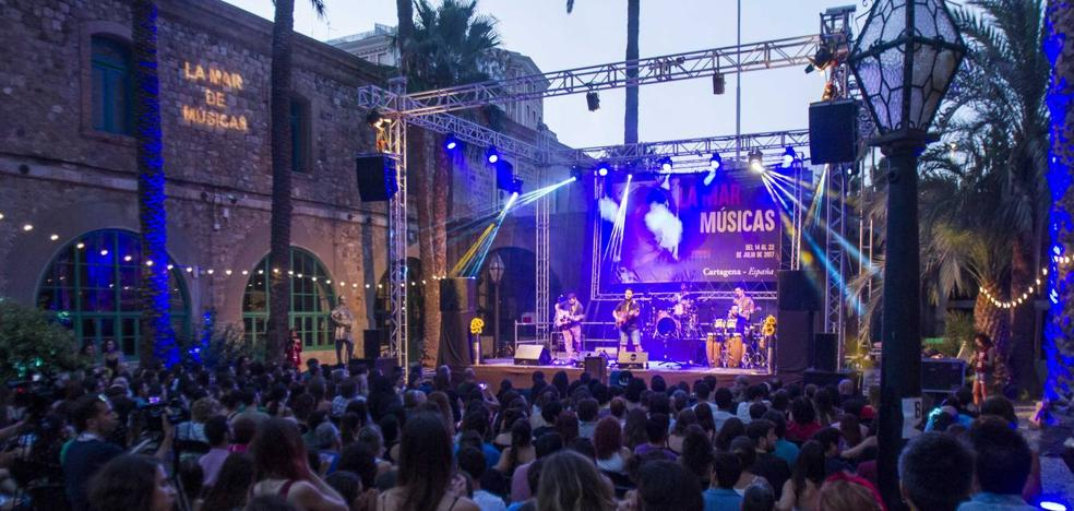 El Kanka, escenario principal de La Mar de Músicas