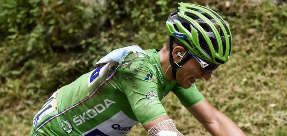 Kittel abandona el Tour por una caída