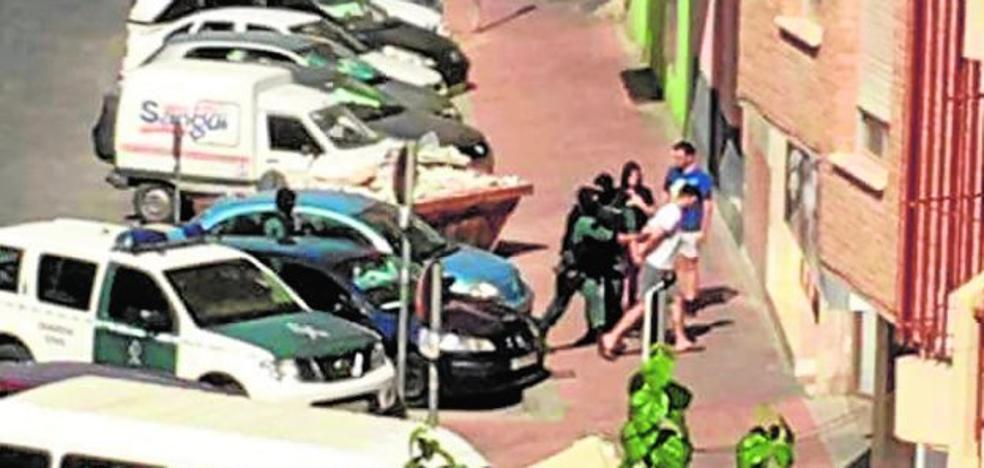 Gran despliegue policial en Molina