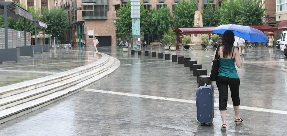 Previsión del tiempo: Lluvia y descenso de las temperaturas este viernes en la Región
