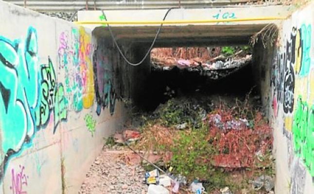 Denuncian la falta de control en la limpieza de Alcantarilla