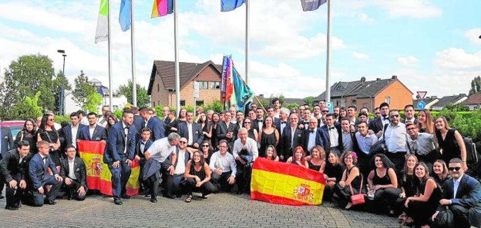 Una banda de Olimpiada en Holanda