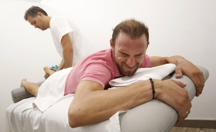 Intensa recuperación de Alejandro Valverde