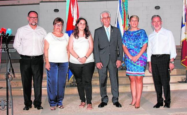 Noelia Arroyo pregonó a los Moros y Cristianos