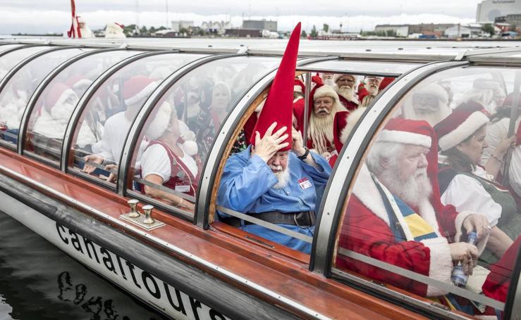 Papá Noel, de vacaciones en Dinamarca