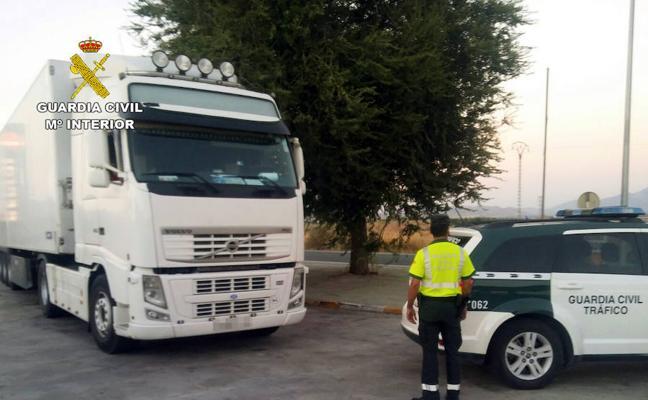 Detenido un camionero por conducir bajo los efectos de las drogas en Jumilla
