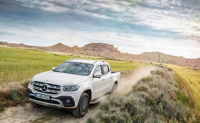 Pickup y estilo de vida, la nueva Clase X de Mercedes-Benz