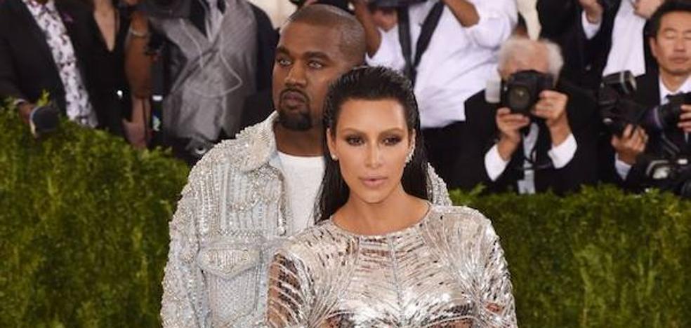 Kim Kardashian y Kanye West podrían estar esperando gemelos