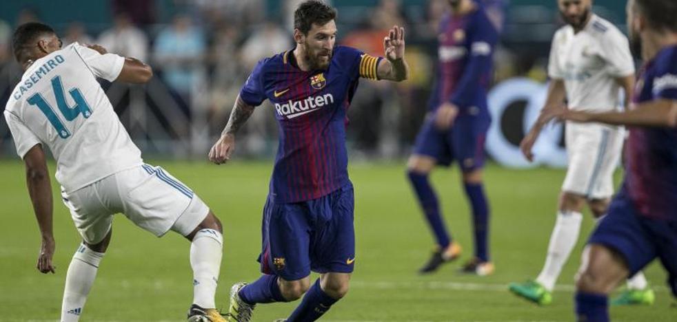 El Barça gana el emocionante e inusual 'Clásico' de Miami