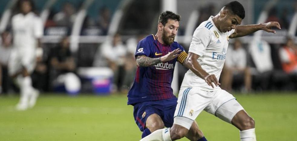 El Real Madrid-Barça conquista Miami y los audímetros