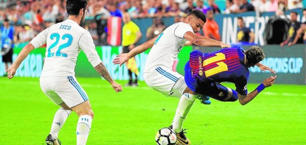El primer clásico, para el Barça