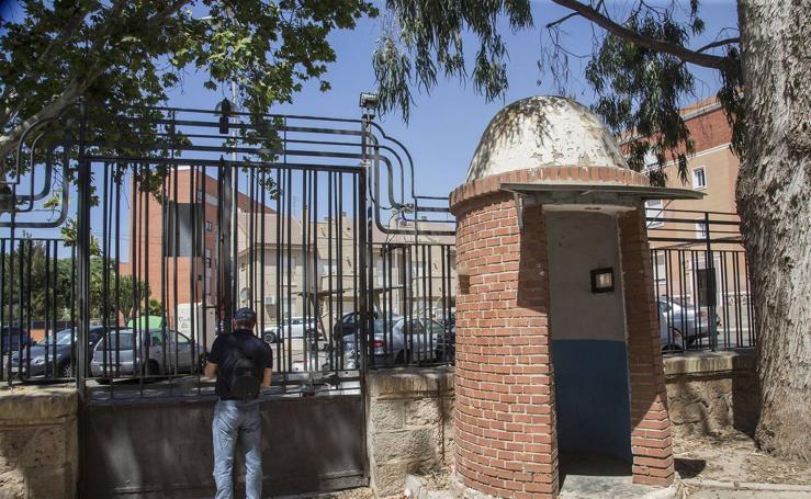 La cárcel de San Antón, a punto de derrumbarse